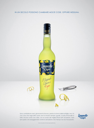 Medium limoncello di capri o